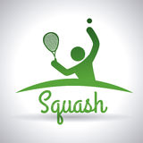 Squash  design Royalty Free Stock Images