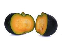 Food, pumpkin. Green, cultivation. stock photo