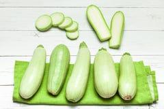 Squash green zucchini, health organic food diet.  stock photography
