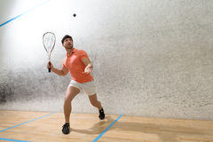 Free Squash Player Man Royalty Free Stock Photography - 70817707
