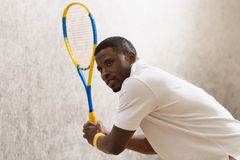 Squash player man Royalty Free Stock Photography