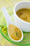 Squash Puree Stock Photo
