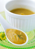 Squash Puree Royalty Free Stock Photo
