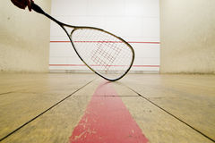 Squash racket Stock Photography