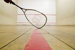 Squash racket stock photography