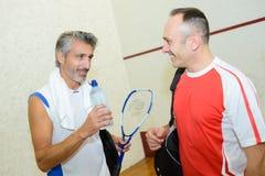 Squash racket and ball. Squash stock photo