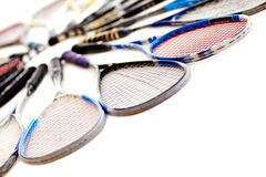 Squash rackets Royalty Free Stock Photo