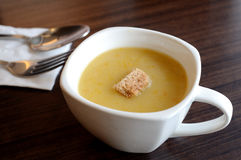 Squash Soup Stock Photography