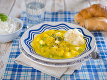 Squash stew, Locro de Zapallo, a typical Peruvian dish Royalty Free Stock Images