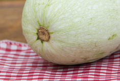 Squash on table Royalty Free Stock Image