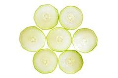 Squash vegetable marrow isolated Royalty Free Stock Photo