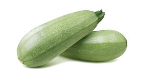 Squash vegetable marrow zucchini isolated 5 on white background Royalty Free Stock Photography