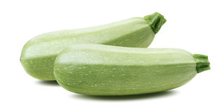Squash vegetable marrow zucchini isolated 2 Royalty Free Stock Image