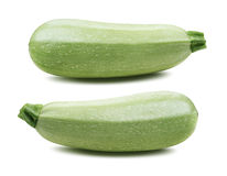 Squash vegetable marrow zucchini isolated 3 Stock Photos