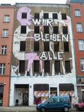 Squatted House East Berlin Stock Photos