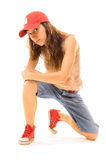 Squatter tomboy Royalty Free Stock Images