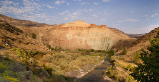 Squaw Creek Butler Basin John Day Fossil Beds Oregon Royalty Free Stock Photos