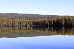 Squaw Lake Reflections Stock Photography