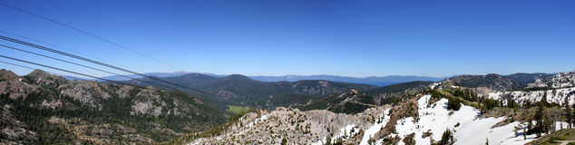 Squaw Panoramic Royalty Free Stock Image