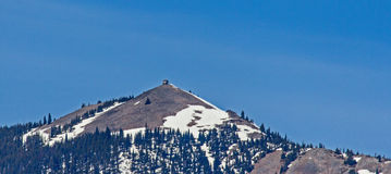 Squaw Peak and Firetower Stock Image