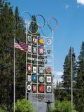 Squaw Valley, EUA imagem de stock royalty free