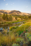 Squawkreek Butler Basin John Day Fossil Beds Oregon Royalty-vrije Stock Foto