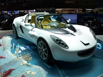 Squba. Lotus Elise based Rinspeed's Squba exposed at the Geneva motorshow in 2008 Stock Image