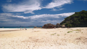 The Squeaky beach. The beautiful, sunny Squeaky beach Stock Photography