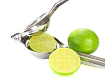 Squeeze of lime Stock Image