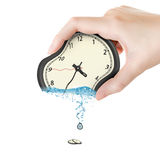 Squeeze time royalty free stock photography