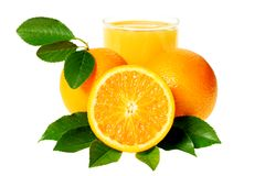 Squeezed juice Stock Images