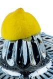 Squeezed lemon Royalty Free Stock Photo