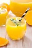 Squeezed orange juice Stock Photo