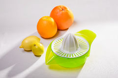 Squeezer and Citrus Stock Photos