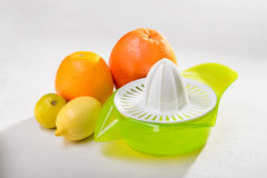 Squeezer and Citrus Royalty Free Stock Photo