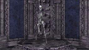 squelette illustration libre de droits