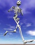 Squelette courant Illustration de Vecteur