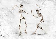 Squelette de danse photo libre de droits
