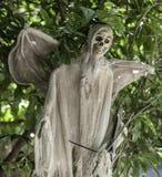 Squelette de Halloween Photographie stock libre de droits