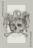 Squelette de joker illustration de vecteur