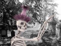 Squelette de réception Images libres de droits