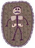 Squelette drôle Photos libres de droits