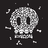 Squelette et os Photos stock