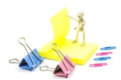Squelette fonctionnant Images libres de droits