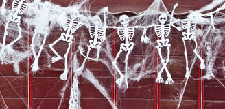 squelettes Images libres de droits