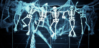 squelettes Photographie stock libre de droits