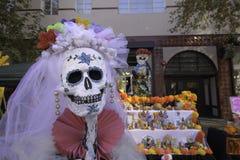 Squelettes de Catrina Photos libres de droits