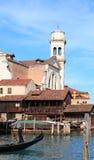 Squelo di San Travaso (Venecia, Italia) Foto de archivo libre de regalías