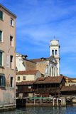 Squelo di San Travaso (Venedig, Italien) Stockbild