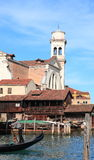 Squelo di San Travaso (Venedig, Italien) Lizenzfreies Stockfoto